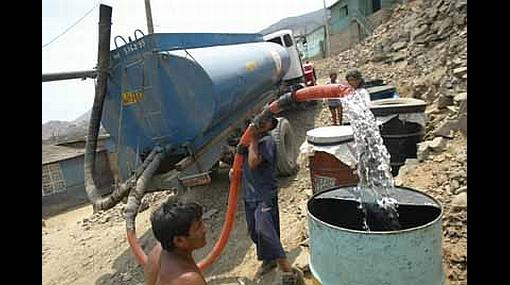 Comenzó el corte de agua en 11 distritos limeños