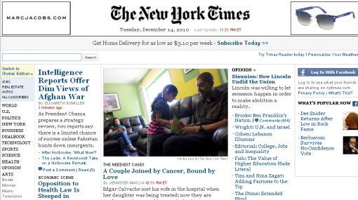"""La Fuerza Aérea de EE.UU. bloqueó las páginas web de """"The New York Times"""" y """"The Guardian"""""""