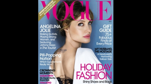 FOTOS: Mario Testino también le hizo una sesión a Angelina Jolie