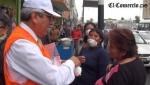 La avenida Abancay se unió a la campaña de sensibilización sobre la contaminación ambiental - Noticias de ana zuchetti