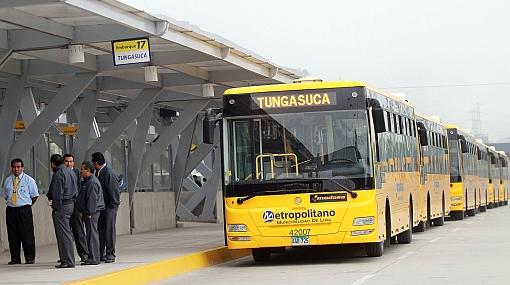 Buses alimentadores recorrerán tres nuevas rutas en Lima Norte