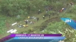 Huánuco: bus repleto de pasajeros cayó a un abismo y dejó 17 muertos - Noticias de basilia huaman