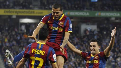 """Dani Alves: """"Al Barza le doy un 12, para estar por encima de Mourinho"""""""