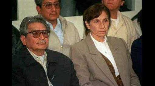 Poder Judicial negó pedido de encuentro entre Abimael Guzmán y Elena Iparraguirre