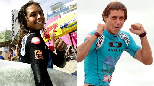 Perú campeón: Valeria Solé y Sebastián Alarcón ganaron el título latinoamericano de surf