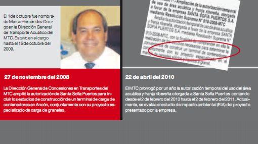Director que avaló puerto de Ancón ahora trabaja para empresa interesada en el proyecto