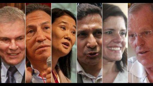 ¿Cómo inician campaña los nueve candidatos presidenciales?