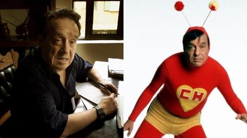 """Chespirito prepara el guión de la película del """"Chapulín Colorado"""""""