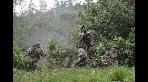 Ataque narcoterrorista dejó un militar muerto y dos heridos en Huanta