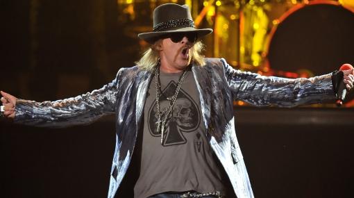 Axl Rose es elegido el mejor vocalista de la historia del rock