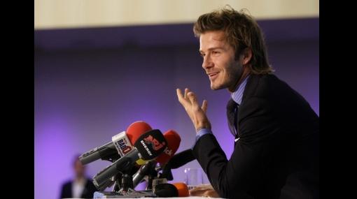 El Tottenham quiere a David Beckham por tres meses