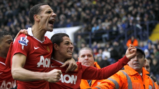 'Chicharito' Hernández inició el 2011 con gol: le regaló triunfo al Manchester United
