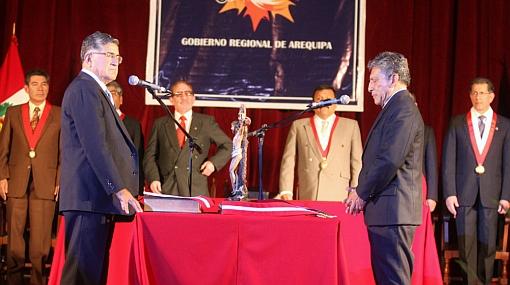 Presidente regional de Arequipa reafirmó su respaldo al proyecto Majes-Siguas II