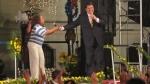 Alan García cantó con Bartola y bailó al ritmo del Grupo 5 en Palacio de Gobierno - Noticias de juan carlos belaunde