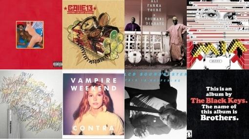 Los diez discos del 2010