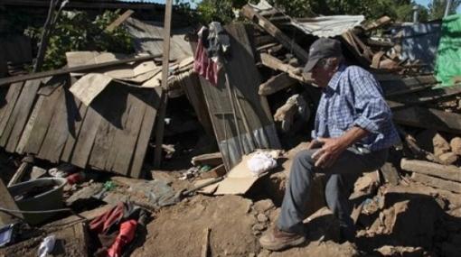 Sismo sufrido en Chile fue réplica del terremoto sufrido en febrero del 2010