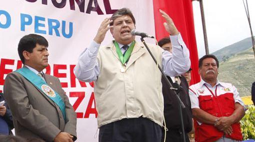 """Alan García: """"Ansío que próximo gobierno continúe crecimiento del país"""""""