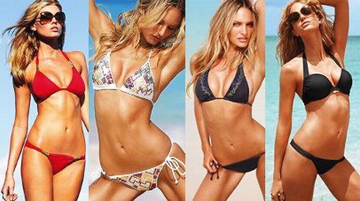Las mejores modelos del mundo presentan los bikinis de Victoria's Secret