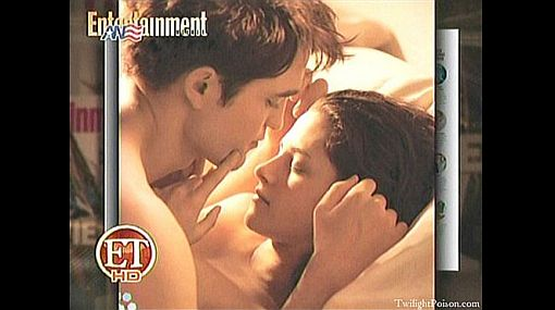 """Robert Pattinson y Kristen Stewart aparecen desnudos en """"Amanecer"""""""