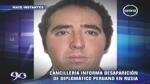 Policía rusa sospecha que diplomático peruano había sido amenazado - Noticias de sergio del castillo cebreros