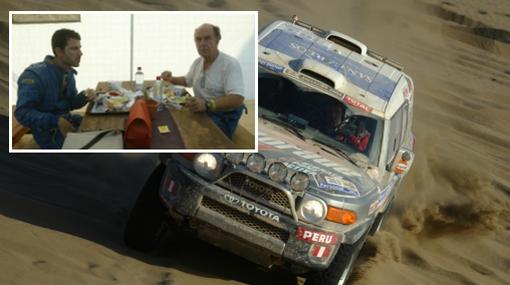 Equipo peruano: los Ferrand cuentan su odisea en el Rally Dakar 2011