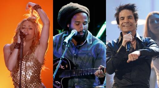 Shakira cantará en Lima con Ziggy Marley y la banda Train