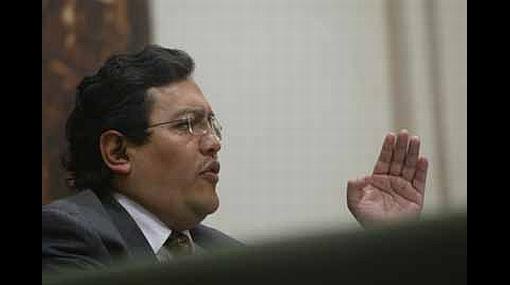 """Gustavo Pacheco: """"Alejandro Toledo es absolutamente desleal"""""""