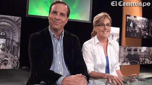Mónica Delta bromeó sobre el peso de Alan García