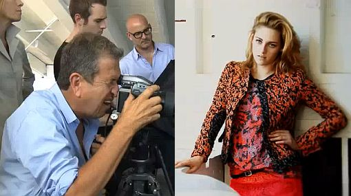 VIDEO: la sesión fotográfica de Kristen Stewart por Mario Testino