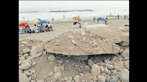Sin respeto por las playas: bañistas contaminan el litoral