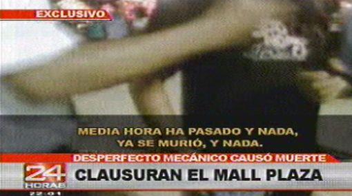VIDEO: imágenes del accidente en la montaña rusa del Callao