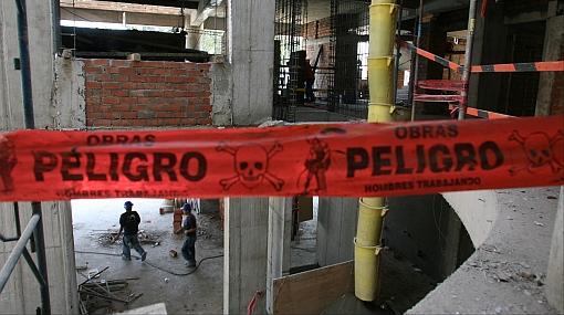El Ministerio de Trabajo paralizó cinco obras inseguras en Miraflores