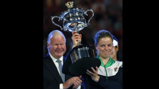 Kim Clijsters conquistó su primer Abierto de Australia
