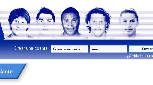 Acasiete figura junto a Messi y Cristiano Ronaldo como imagen de la Liga española