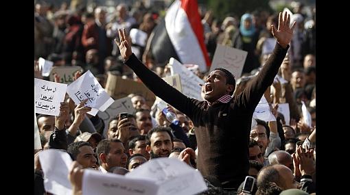 Dirigentes de grupo opositor a gobierno egipcio escaparon de prisión