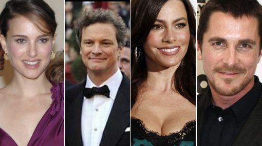 Natalie Portman, Colin Firth y Sofía Vergara, favoritos en premios SAG