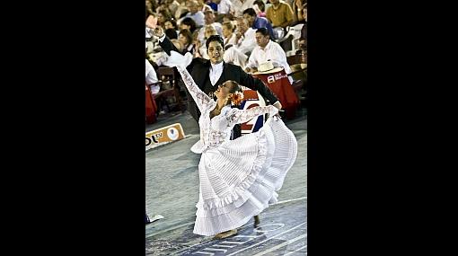 FOTOS: el final de la fiesta de la marinera en Trujillo