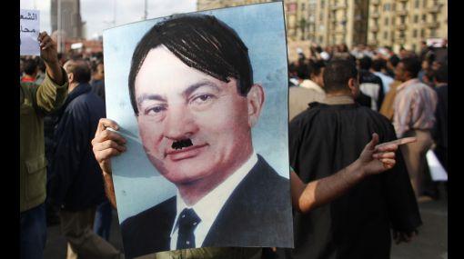 "FOTOS: egipcios se suman a la ""marcha del millón"" contra Mubarak"