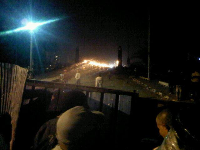 Imágenes desde Twitter: el Museo Egipcio incendiado y cientos de heridos