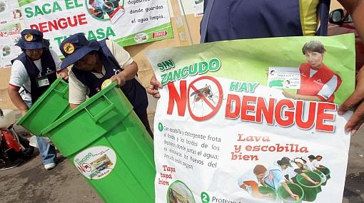Loreto pide más de S/. 2,7 millones para lucha contra el dengue