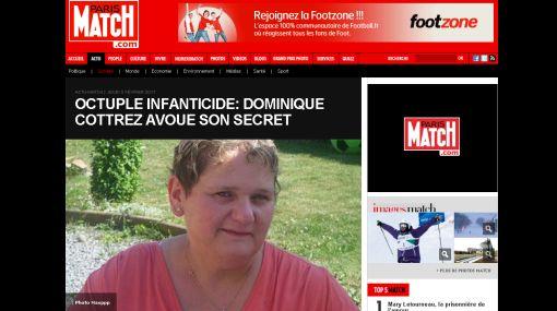 Francesa mató a sus ocho bebes porque fue violada por su padre