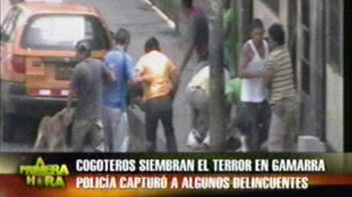 VIDEO: delincuentes roban a plena luz del día en Gamarra