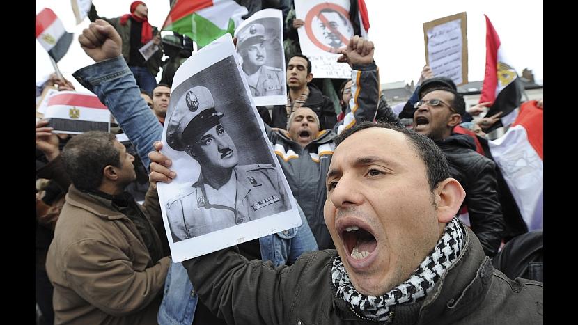FOTOS: el mundo se solidariza con Egipto