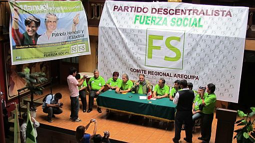 Imagen de Villarán acompañó acto proselitista de Manuel Rodríguez Cuadros