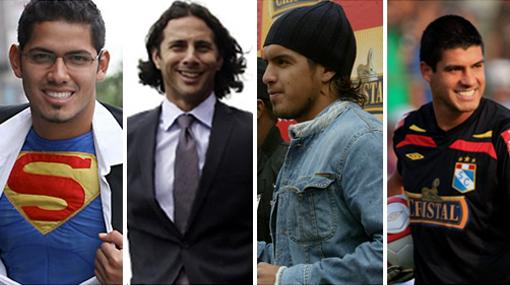 Los 10 jugadores más guapos del fútbol peruano