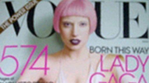 """Lady Gaga: """"Ahora soy la reina de belleza de Vogue"""""""