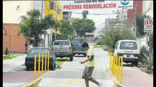 Obra recién inaugurada en Magdalena del Mar será demolida
