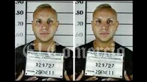 Carlos Cacho es el reo 329727 en el penal ex San Jorge