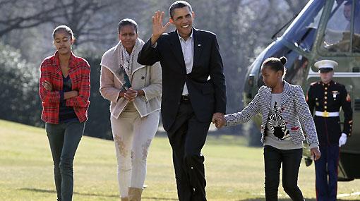 Las hijas de Barack Obama tienen prohibido tener cuentas en Facebook