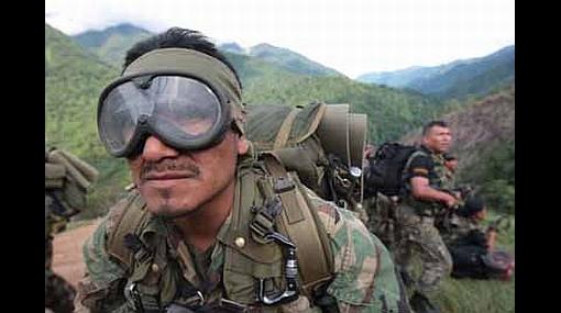Fuerzas militares se preparan para resguardar comicios en el VRAE